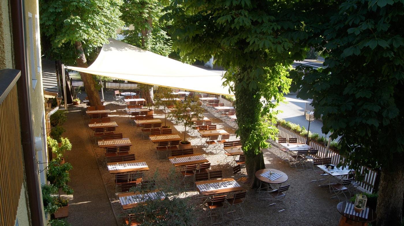 Biergarten Mykonos Rosenheim
