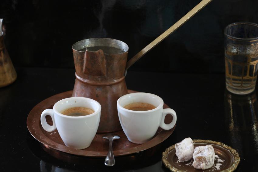 Griechischer Kaffee im Briki